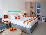 パタヤ ジョムティエンビーチのホテル : カジュアリーナ ジョムティエン ホテル(Casuarina Jomtien Beach Hotel)のカジュアリーナルームの設備 Bedroom