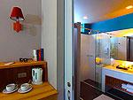パタヤ ジョムティエンビーチのホテル : カジュアリーナ ジョムティエン ホテル(Casuarina Jomtien Beach Hotel)のカジュアリーナルームの設備 Bath Room