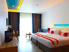 パタヤ ジョムティエンビーチのホテル : カジュアリーナ ジョムティエン ホテル(1)のお部屋「カジュアリーナ」