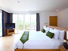 パタヤ ジョムティエンビーチのホテル : カジュアリーナ ジョムティエン ホテル(1)のお部屋「ビーチフロント スイート」