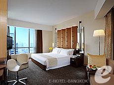 バンコク ファミリー&グループのホテル : センタラ グランド アット セントラルワールド(Centara Grand at Central World)のお部屋「ワールドクラブデラックス」