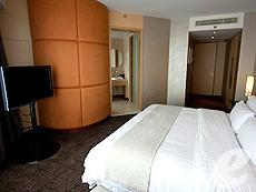 バンコク ファミリー&グループのホテル : センタラ グランド アット セントラルワールド(Centara Grand at Central World)のお部屋「エグゼクティブ スイート」