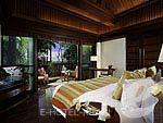 Bedroom : 1 Bedroom Beachfront Villa (มาเป็นครอบครัว&หมู่คณะ) โรงแรมในกระบี่, ประเทศไทย