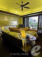 Bedroom : Premium Deluxe Ocean Facing(Twin/Double) (มาเป็นครอบครัว&หมู่คณะ) โรงแรมในกระบี่, ประเทศไทย