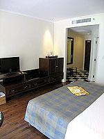 サムイ島 キッズルームありのホテル : センタラ グランド ビーチ リゾート サムイ(Centara Grand Beach Resort Samui)のデラックス オーシャンフェーシングルームの設備 Bedroom