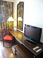 サムイ島 キッズルームありのホテル : センタラ グランド ビーチ リゾート サムイ(Centara Grand Beach Resort Samui)のデラックス オーシャンフェーシングルームの設備 Writing Desk