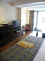サムイ島 キッズルームありのホテル : センタラ グランド ビーチ リゾート サムイ(Centara Grand Beach Resort Samui)のデラックス プール スイートルームの設備 Bedroom