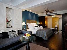 サムイ島 キッズルームありのホテル : センタラ グランド ビーチ リゾート サムイ(1)のお部屋「デラックス プール スイート」