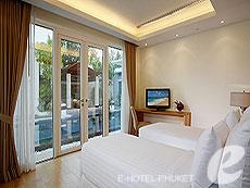 プーケット スパ併設のホテル : グランド ウエストサンド リゾート & ビラ プーケット(1)のお部屋「ラグジュアリー プール ヴィラ 2ベッドルーム」