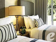 プーケット スパ併設のホテル : グランド ウエストサンド リゾート & ビラ プーケット(1)のお部屋「デラックスツイン」