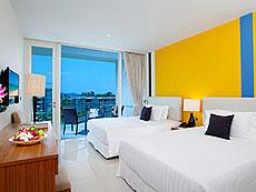 プーケット インターネット接続(無料)のホテル : グランド ウエストサンド リゾート & ビラ プーケット(1)のお部屋「デラックスファミリー」