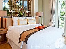 プーケット スパ併設のホテル : グランド ウエストサンド リゾート & ビラ プーケット(1)のお部屋「デラックススイート1ベッドルームダブル」