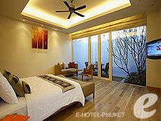 プーケット スパ併設のホテル : グランド ウエストサンド リゾート & ビラ プーケット(1)のお部屋「ラグジュアリー1ベッドルームスイートダブル」