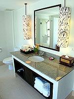 プーケット 5,000~10,000円のホテル : センタラ カロン リゾート(Centara Karon Resort)のカバナ 1ベットルーム プライベートプールルームの設備 washbasin