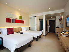 プーケット 5,000~10,000円のホテル : センタラ カロン リゾート(1)のお部屋「スーペリア(ツイン/ダブル)」