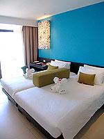 プーケット 5,000~10,000円のホテル : センタラ カロン リゾート(Centara Karon Resort)のスーペリアオーシャンビュー(シングル)ルームの設備 Bedroom
