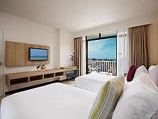 プーケット 5,000~10,000円のホテル : センタラ カロン リゾート(1)のお部屋「スーペリアオーシャンビュー(ダブル/ツイン)」
