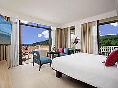 プーケット 5,000~10,000円のホテル : センタラ カロン リゾート(1)のお部屋「デラックスハネムーンスパスイート」