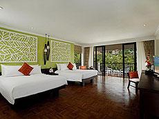 プーケット 5,000~10,000円のホテル : センタラ カロン リゾート(1)のお部屋「ラグーンデラックスファミリースタジオ」