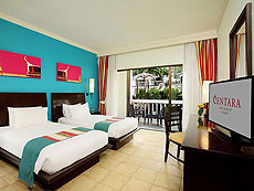 プーケット カタビーチのホテル : センタラ カタ リゾート(1)のお部屋「ファミリーデラックス(シングル)」