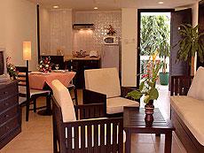 プーケット カタビーチのホテル : センタラ カタ リゾート(1)のお部屋「2ベッドルームファミリースイート」