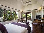 プーケット 5,000~10,000円のホテル : センタラ ヴィラ プーケット(Centara Villas Phuket)のデラックスビラシングルルームの設備 Bedroom