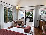 プーケット 5,000~10,000円のホテル : センタラ ヴィラ プーケット(Centara Villas Phuket)のデラックスオーシャンフェーシングビラ(シングル)ルームの設備 Bedroom