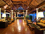 サムイ島 ビーチフロントのホテル : センタラ ヴィラ サムイ 「Lobby」