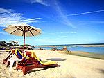 サムイ島 ビーチフロントのホテル : センタラ ヴィラ サムイ 「Beach」