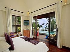 サムイ島 10,000~20,000円のホテル : センタラ ヴィラ サムイ(1)のお部屋「デラックスプールビラオーシャンビュー」