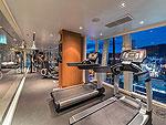 プーケット フィットネスありのホテル : アシュリー ハブ ホテル パトン 「Fitness」