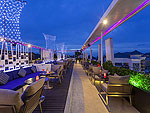 AIR ROOFTOP BAR : Ashlee Hub Hotel Patong, Free Wifi, Phuket