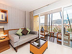 プーケット パトンビーチのホテル : アシュリー ハブ ホテル パトン(Ashlee Hub Hotel Patong)のデラックスルームルームの設備 Living Area