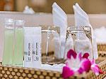 プーケット カップル&ハネムーンのホテル : アシュリー ハブ ホテル パトン(Ashlee Hub Hotel Patong)のデラックスルームルームの設備 Bath Amenities