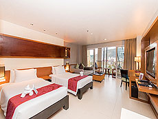 プーケット カップル&ハネムーンのホテル : アシュリー ハブ ホテル パトン(1)のお部屋「デラックスルーム」