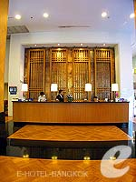 Reception : Grande Centre Point Hotel Ploenchit, Wireless Road, Phuket