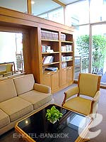 Library : Grande Centre Point Hotel Ploenchit, Wireless Road, Phuket