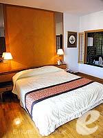バンコク ワイヤレスロードのホテル : センター ポイント プルンチット ホテル(Grande Centre Point Hotel Ploenchit)のスタジオ ルームルームの設備 Bedroom
