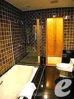 バンコク BTSプルンチット駅のホテル : センター ポイント プルンチット ホテル(Grande Centre Point Hotel Ploenchit)の1ベッドルーム(トリプル)ルームの設備 Bath Room