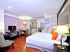 バンコク ファミリー&グループのホテル : センター ポイント シーロム(Centre Point Silom)のお部屋「デラックス」