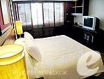 バンコク スクンビットのホテル : センター ポイント トンロー(Centre Point Thong Lo)の1ベットルームルームの設備 Bedroom