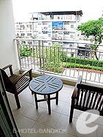 バンコク スクンビットのホテル : センター ポイント トンロー(Centre Point Thong Lo)の1ベットルームルームの設備 Balcony