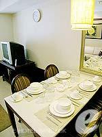 バンコク スクンビットのホテル : センター ポイント トンロー(Centre Point Thong Lo)の1ベッドルーム グランド スイートルームの設備 Dining