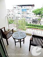 バンコク スクンビットのホテル : センター ポイント トンロー(Centre Point Thong Lo)の1ベッドルーム グランド スイートルームの設備 Balcony