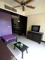 クラビ 10,000~20,000円のホテル : ランタ チャ ダ ビーチ リゾート(Cha Da Beach Resort & Spa)のシルバー スイートルームの設備 Living Room