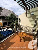 クラビ 10,000~20,000円のホテル : ランタ チャ ダ ビーチ リゾート(Cha Da Beach Resort & Spa)のシルバー スイートルームの設備 Balcony