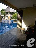 クラビ 10,000~20,000円のホテル : ランタ チャ ダ ビーチ リゾート(Cha Da Beach Resort & Spa)のゴールドスイートルームの設備 Terrace