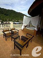 クラビ 10,000~20,000円のホテル : ランタ チャ ダ ビーチ リゾート(Cha Da Beach Resort & Spa)のプラチウム スイートルームの設備 Balcony