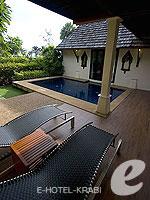 クラビ 10,000~20,000円のホテル : ランタ チャ ダ ビーチ リゾート(Cha Da Beach Resort & Spa)のダイアモンド ビラルームの設備 Terrace