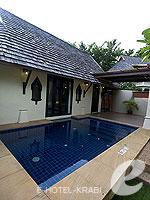 クラビ 10,000~20,000円のホテル : ランタ チャ ダ ビーチ リゾート(Cha Da Beach Resort & Spa)のダイアモンド ビラルームの設備 Private Pool